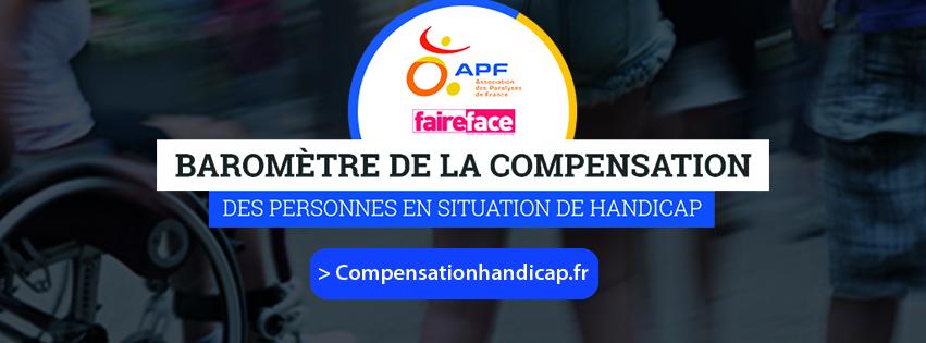 Logo du baromètre de la compensation